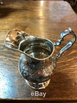 Service À Thé Café En Argent Sterling À Motif Chantilly Par Gorham, 5 Pièces 85,94 Toz