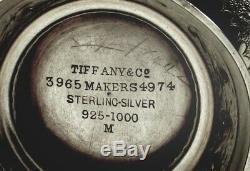 Service À Thé En Argent Sterling Tiffany, C1875 Sans Monogramme