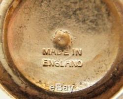 Service À Thé Miniature En Argent Sterling 5 Pièces Angleterre Dollhouse De Birmingham
