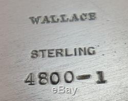 Service À Thé Sir Christopher By Wallace En Argent Sterling 5pc Avec Plateau (# 1942)