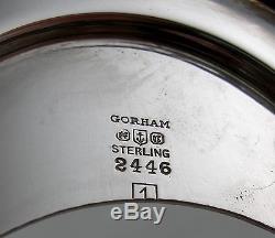 Service À Thé Sterling Gorham Plymouth Avec Plateau Assorti (6 Pièces) 1916-19