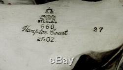 Service À Thé Sterling Reed & Barton 1947 Hampton Court No Mono