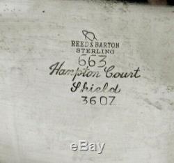 Service À Thé Sterling Reed & Barton 1949 Hampton Court No Mono