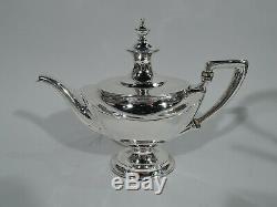 Service À Thé Tiffany 13889d Argent Sterling Américain Antique Néoclassique
