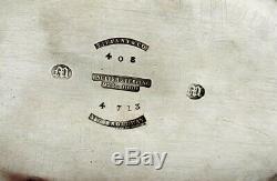 Service À Thé Tiffany Sterling, C1856 John C. Moore, Sans Monogramme