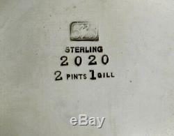 Service À Thé Whiting En Argent Sterling C1890 Charles Osborne Designer