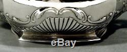 Set De Thé En Vrac Gorham 1914 L'aile De Shell & Bat Fluant 49 Oz