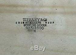 Set Tiffany Sterling Plateau Thé Hampton Bay 153 Oz