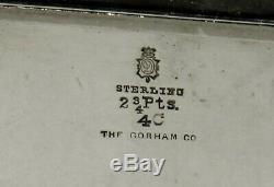 Sterling Durgin Thé Et Café Set C1920 Décoré À La Main