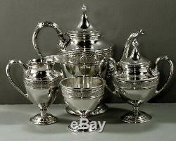 Sterling International Co. Tea Set C1940 Wedgwood No Monogram