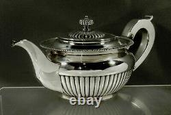Theodore Starr Sterling Tea Set C1910 Géorgien