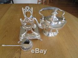 Tiffany & Co Sterling Silver Set6p Café Avec Standaled Floral3922 Gr