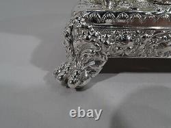 Tiffany Coffee & Tea Set 6074 6237 6238 American Sterling Silver 1892/1902