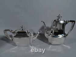 Tiffany Hampton Coffee & Tea Set 18389a 5 Piece Américaine En Argent Sterling