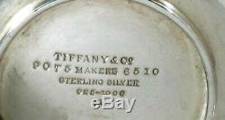 Tiffany Sterling À Thé Bouilloire À Thé Et Support C1907 Geogrian