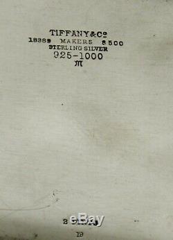 Tiffany Sterling À Thé C1940 Hampton Bay No Monogram