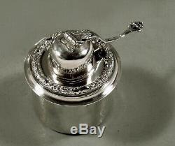 Tiffany Sterling Tea Set C1891 80 Oz. Persan