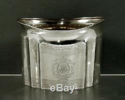 Tiffany Sterling Tea Set C1907 Geogrian Décoré À La Main