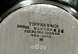 Tiffany Sterling Tea Set Tasses / Soucoupes & Lenox Liners C1914