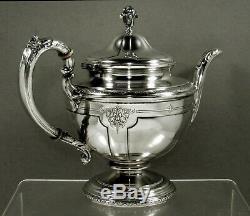 Towle Argenterie Sterling Tea Set C1940 Louis XIV
