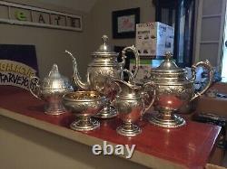 Towle Old Master Tea Set