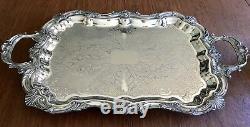 Un Ensemble De 7 Pièces Antique Pairpoint Silver Plate Tea Coffee Set
