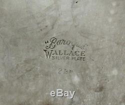 Wallace Plateau À Thé En Argent C1945 Grand Baroque 28