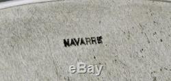 Watson Co. Plateau À Thé En Argent Sterling C1920 Navarre Hand Decorated