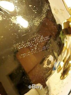 Webster Wilcox International Co Argent. 24k Dore Thé / Café Set 8 Pc