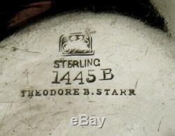 Whiting Co. Sterling Tea Set Manière Japonais