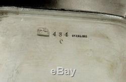 Whiting Sterling Tea Set C1875 Japonais Charles Osborne