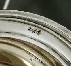 Whiting Sterling Tea Set C1920 Décoré À La Main No Mono