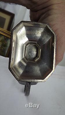 Wilcox Silver Plate 3 Pc Set Art Déco Crémier Pot De Café Et Thé